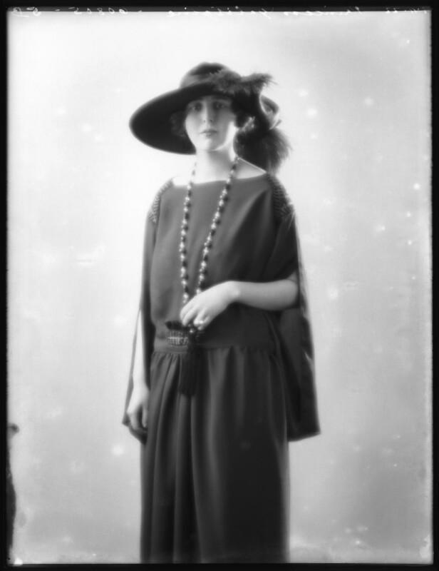 Princess Alexandra Pavlovna Galitzine, by Bassano Ltd, 7 November 1922 - NPG x122140 - © National Portrait Gallery, London
