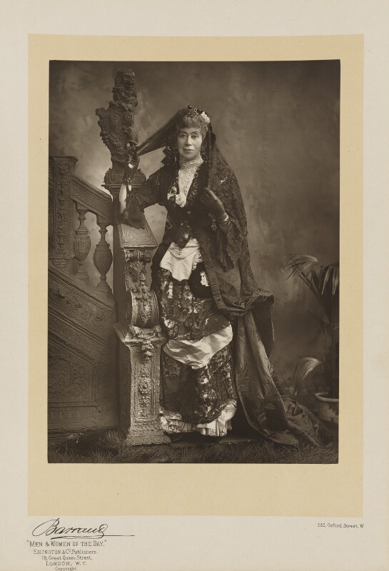 Adeline, Countess of Cardigan and Lancastre, by Herbert Rose Barraud, published by  Eglington & Co, published 1891 - NPG Ax5537 - © National Portrait Gallery, London