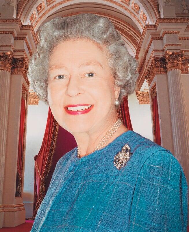 Queen Elizabeth II, by Rankin, December 2001 - NPG x125855 - © Rankin