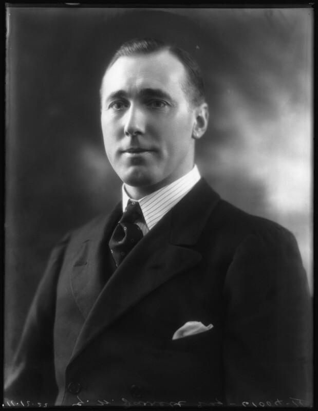 George William Symonds Jarrett, by Bassano Ltd, 11 December 1922 - NPG x122144 - © National Portrait Gallery, London