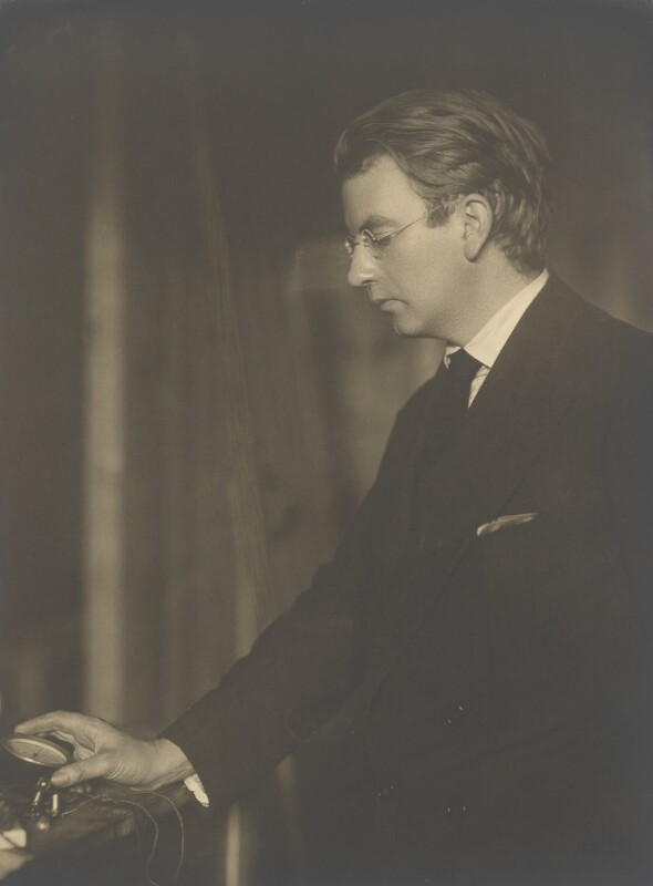 John Logie Baird, by Walter Benington, 1920s - NPG P968 - © National Portrait Gallery, London