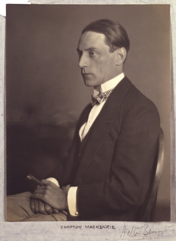 Compton Mackenzie, by Walter Benington, 1920s - NPG P976 - © National Portrait Gallery, London
