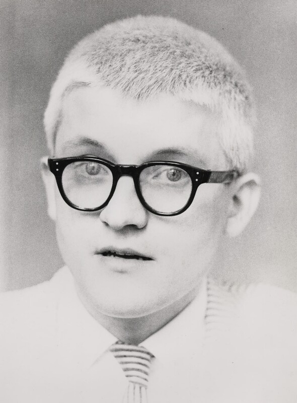 David Hockney, by Lord Snowdon, 1965 - NPG x76732 - © Armstrong Jones
