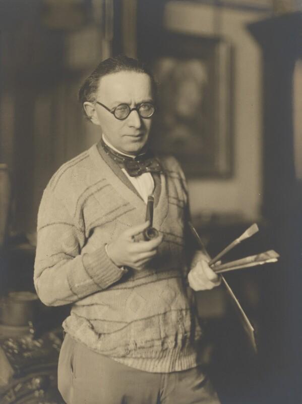 Alfred Wolmark, by Walter Benington, 1920s - NPG P982 - © National Portrait Gallery, London