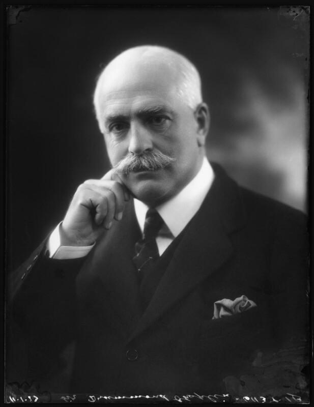 Sir (Francis) Drummond (Percy) Chaplin, by Bassano Ltd, 11 January 1923 - NPG x122211 - © National Portrait Gallery, London