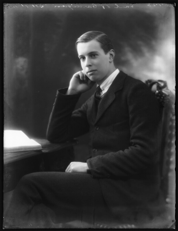 Chandos Brudenell-Bruce, 7th Marquess of Ailesbury, by Bassano Ltd, 20 January 1923 - NPG x122233 - © National Portrait Gallery, London