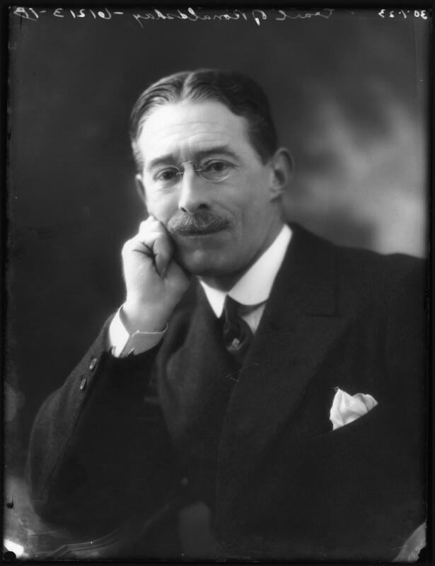 Lawrence John Lumley Dundas, 2nd Marquess of Zetland, by Bassano Ltd, 30 January 1923 - NPG x122264 - © National Portrait Gallery, London