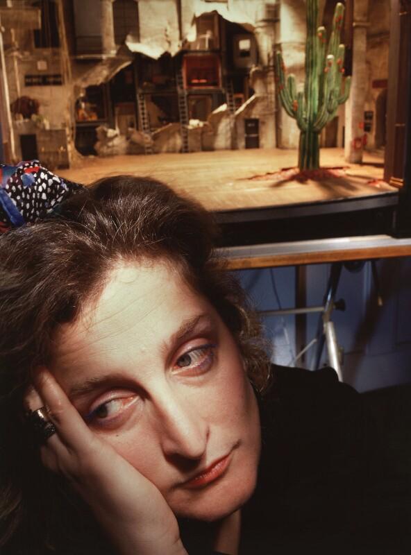 Maria Elena Bjornson, by Steve Speller, 1988 - NPG x87438 - © Steve Speller / National Portrait Gallery, London