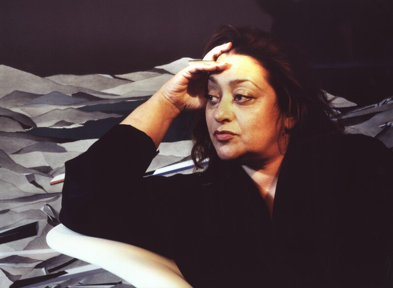 Dame Zaha Hadid, by Steve Speller, 1994 - NPG x87300 - © Steve Speller / National Portrait Gallery, London