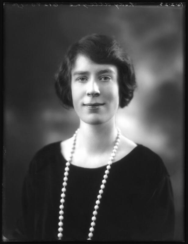 Alice Violet (née Campbell), Lady Alleyne, by Bassano Ltd, 16 February 1923 - NPG x122318 - © National Portrait Gallery, London