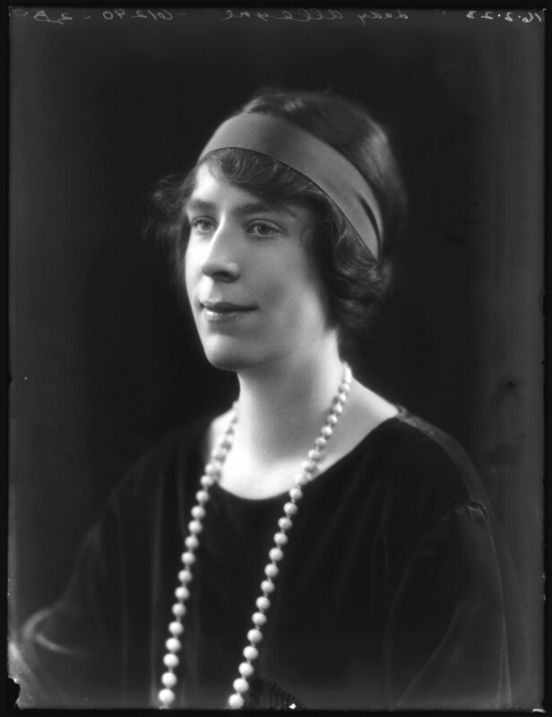 Alice Violet (née Campbell), Lady Alleyne, by Bassano Ltd, 16 February 1923 - NPG x122319 - © National Portrait Gallery, London