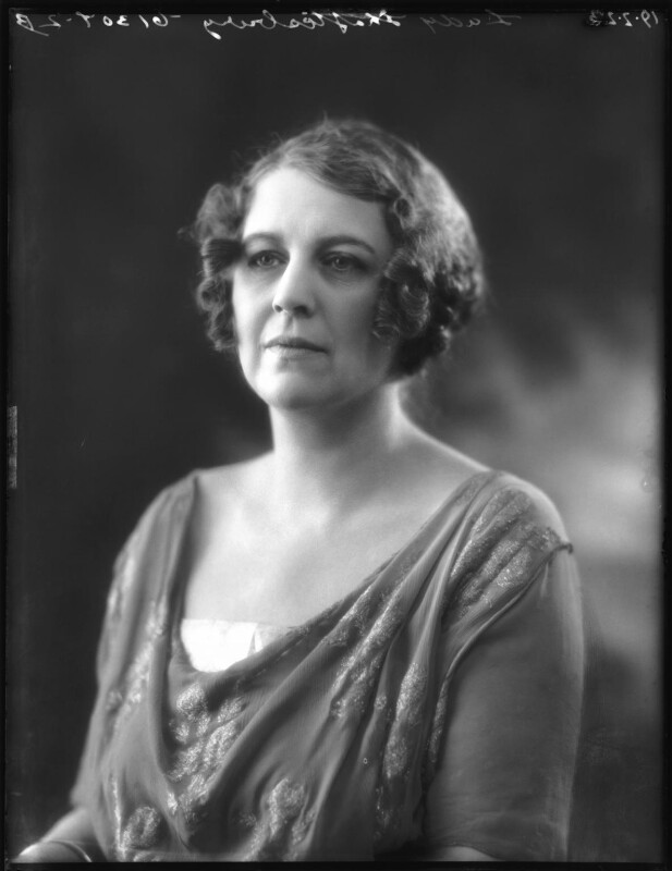 Constance Sibell Ashley-Cooper (née Grosvenor), Countess of Shaftesbury, by Bassano Ltd, 19 February 1923 - NPG x122330 - © National Portrait Gallery, London