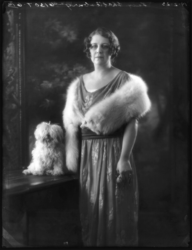 Constance Sibell Ashley-Cooper (née Grosvenor), Countess of Shaftesbury, by Bassano Ltd, 19 February 1923 - NPG x122333 - © National Portrait Gallery, London