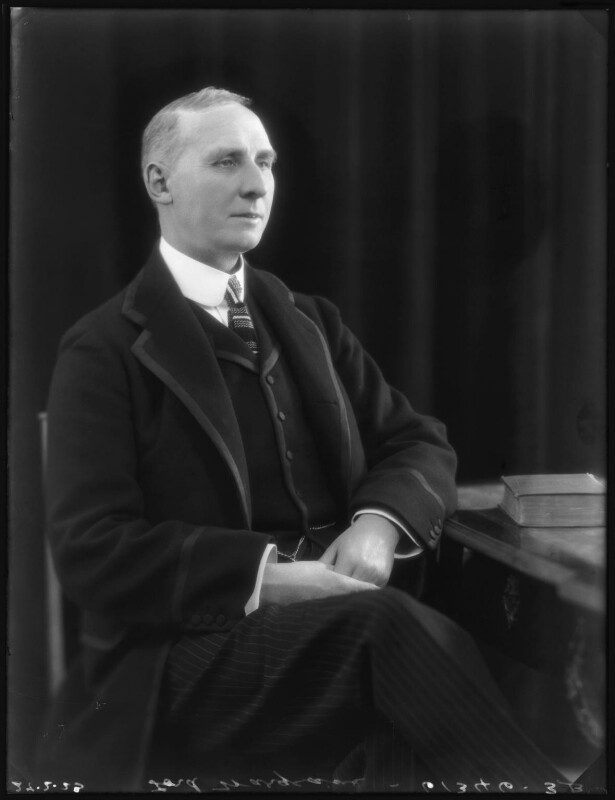Edward Alfred Goulding, 1st Baron Wargrave, by Bassano Ltd, 27 February 1923 - NPG x122379 - © National Portrait Gallery, London