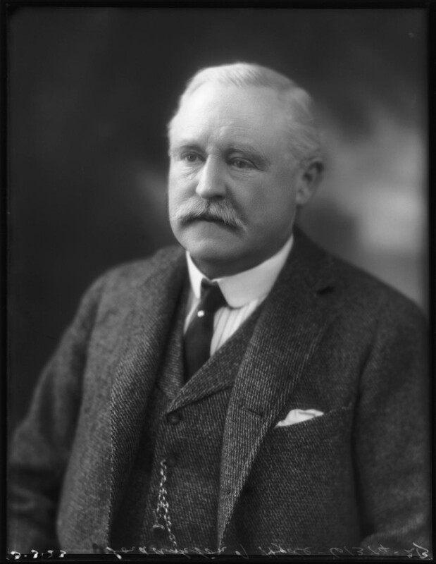 Thomas Gair Ashton, 1st Baron Ashton-of-Hyde, by Bassano Ltd, 3 March 1923 - NPG x122389 - © National Portrait Gallery, London