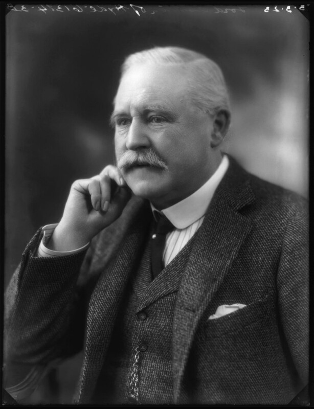 Thomas Gair Ashton, 1st Baron Ashton-of-Hyde, by Bassano Ltd, 3 March 1923 - NPG x122390 - © National Portrait Gallery, London
