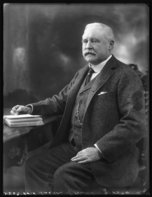 Thomas Gair Ashton, 1st Baron Ashton-of-Hyde, by Bassano Ltd, 3 March 1923 - NPG x122391 - © National Portrait Gallery, London