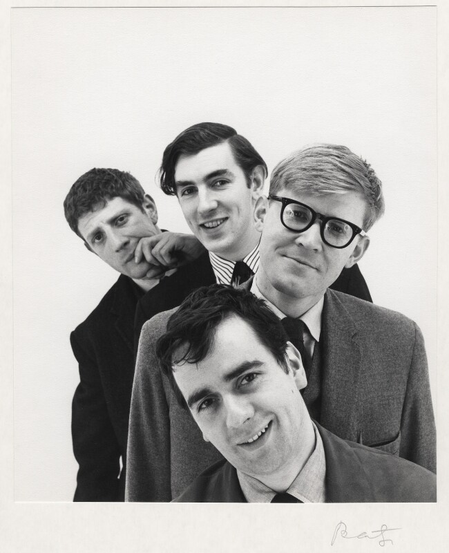 Beyond the Fringe (Jonathan Miller; Peter Edward Cook; Dudley Moore; Alan Bennett), by Cecil Beaton, 1961 - NPG x126027 - © Cecil Beaton Studio Archive, Sotheby's London
