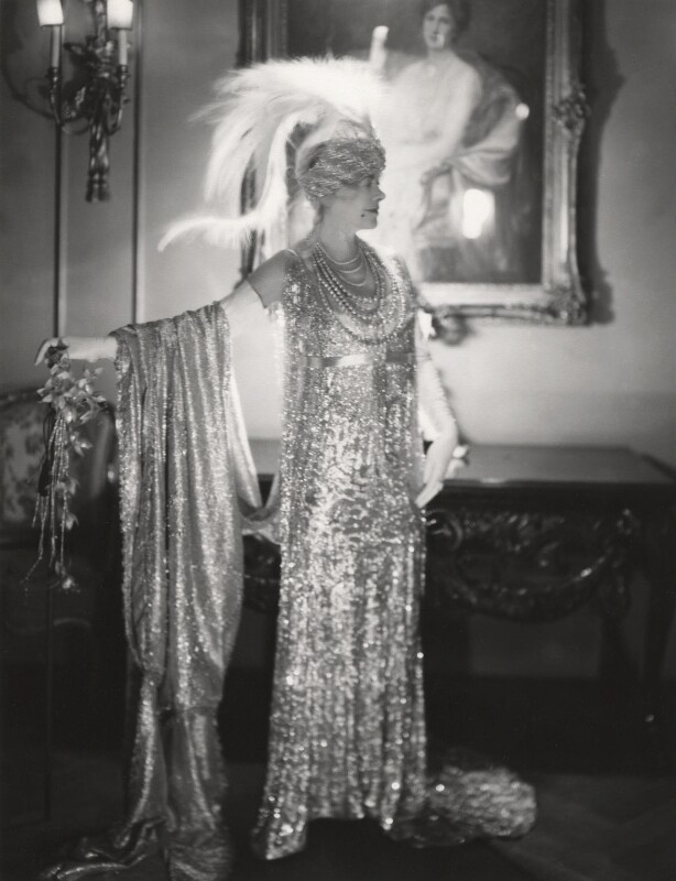 Florence Jane (née Théleur), Lady Alexander as Silver in 'Pageant of Jewels', by Cecil Beaton, 1930 - NPG x14003 - © Cecil Beaton Studio Archive, Sotheby's London