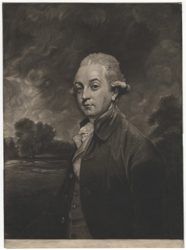 William Wentworth Fitzwilliam, 2nd Earl Fitzwilliam, by Joseph Grozer, published by  William Austin, after  Sir Joshua Reynolds, published 1786 - NPG D17894 - © National Portrait Gallery, London