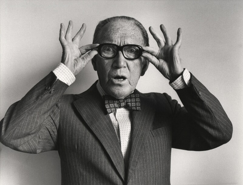 Arthur Askey, by Roger George Clark, 26 September 1977 - NPG x15078 - © Roger George Clark / National Portrait Gallery, London