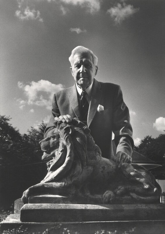 Sir Barnes Wallis, by Roger George Clark, 2 July 1975 - NPG x15121 - © Roger George Clark / National Portrait Gallery, London