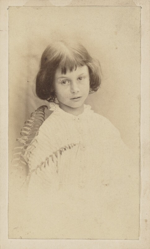 Alice Liddell, by Lewis Carroll, July 1860 - NPG P991(8) - © National Portrait Gallery, London and the National Media Museum (part of the Science Museum Group, London)
