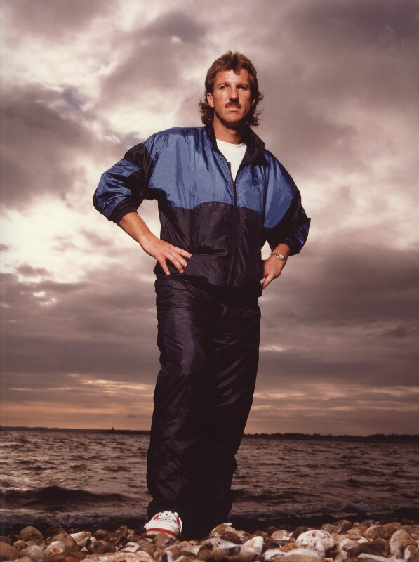Ian Botham, by Terry O'Neill, mid 1980s - NPG x87444 - © Iconic IMages/Terry O'Neill