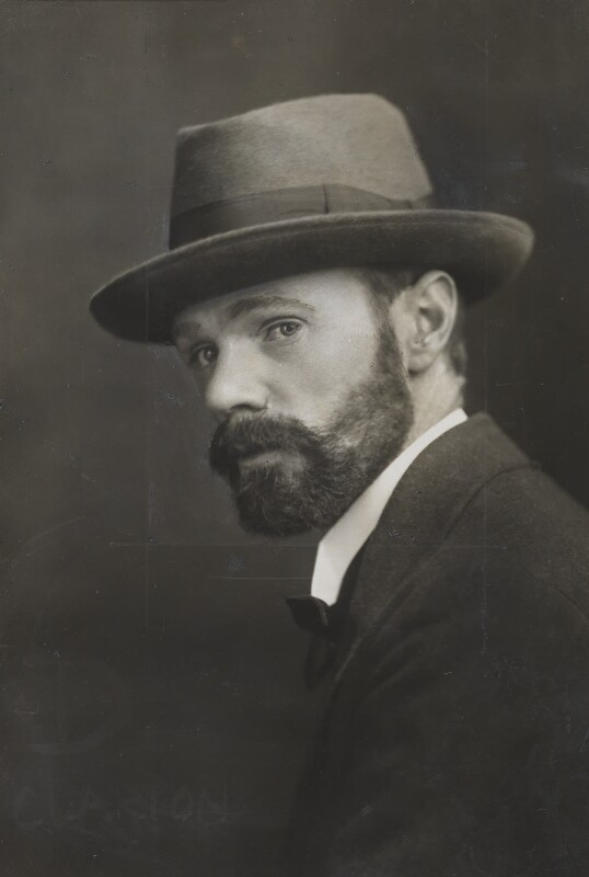 D.H. Lawrence, by Elliott & Fry, circa 1915 - NPG x36138 - © National Portrait Gallery, London