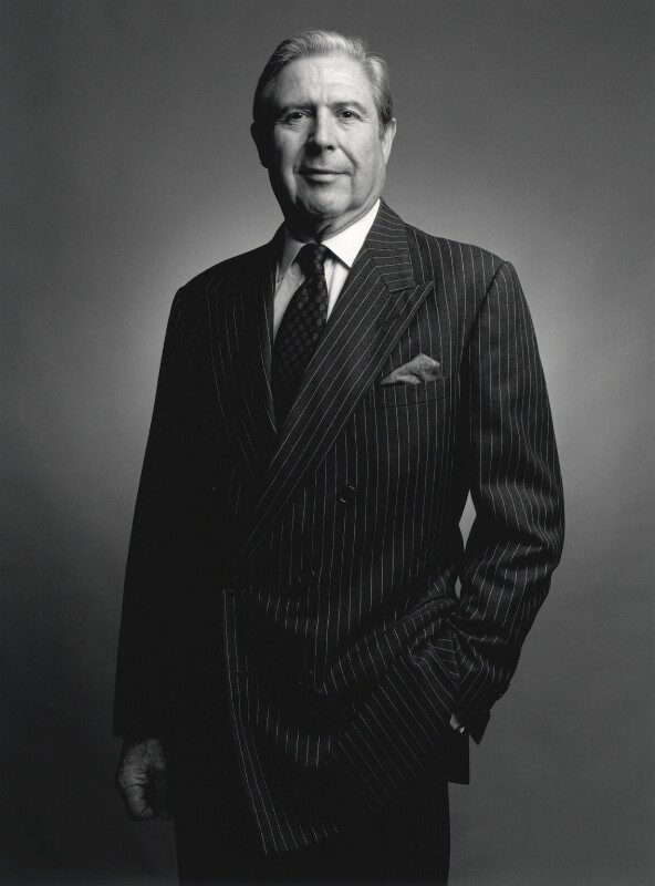 Sir David Scholey, by Francesco Barasciutti, 2 April 1999 - NPG x126035 - © Francesco Barasciutti