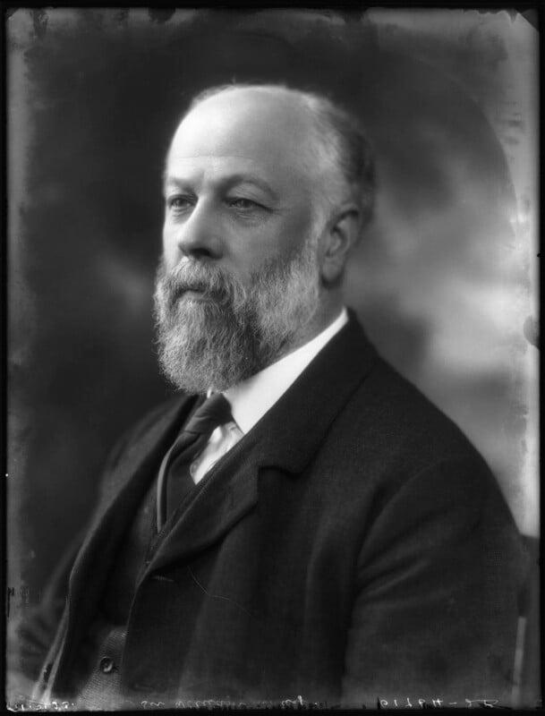 Sir William Ashley, by Bassano Ltd, 11 May 1923 - NPG x122479 - © National Portrait Gallery, London