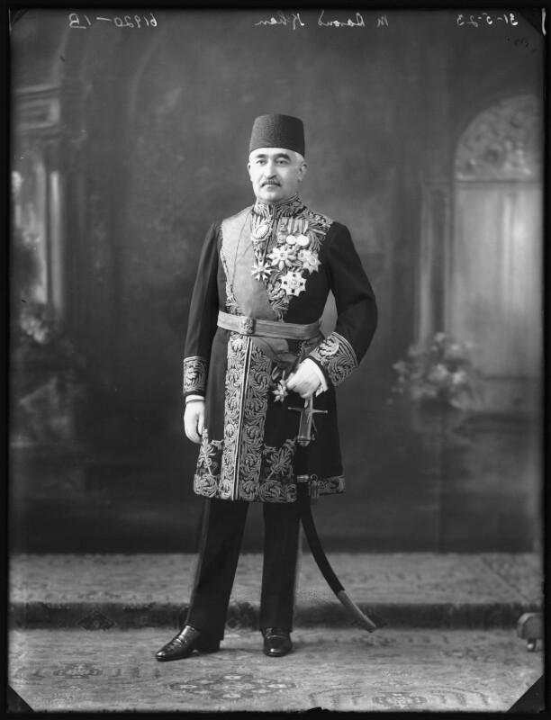 Daroud Khan, by Bassano Ltd, 31 May 1923 - NPG x122511 - © National Portrait Gallery, London