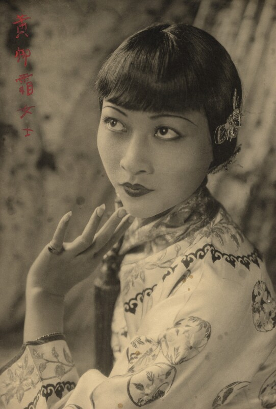 Anna May Wong, by Fred Daniels, 1929 - NPG x32924 - © Estate of Fred Daniels / National Portrait Gallery, London