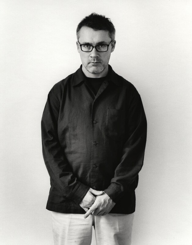 Damien Hirst, by Johnnie Shand Kydd, March 2003 - NPG x126054 - © Johnnie Shand Kydd