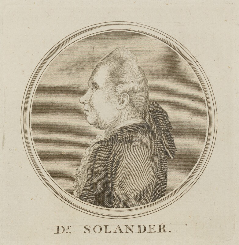 Daniel Charles Solander, by Unknown artist, circa 1770-1780 - NPG D14059 - © National Portrait Gallery, London