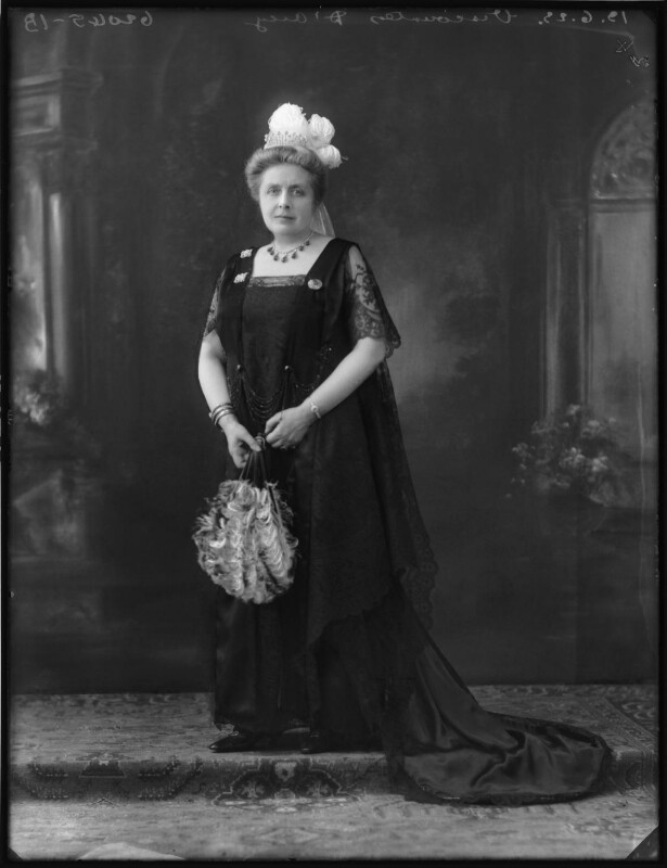 Marie, Viscountess D'Arcy, by Bassano Ltd, 13 June 1923 - NPG x122530 - © National Portrait Gallery, London