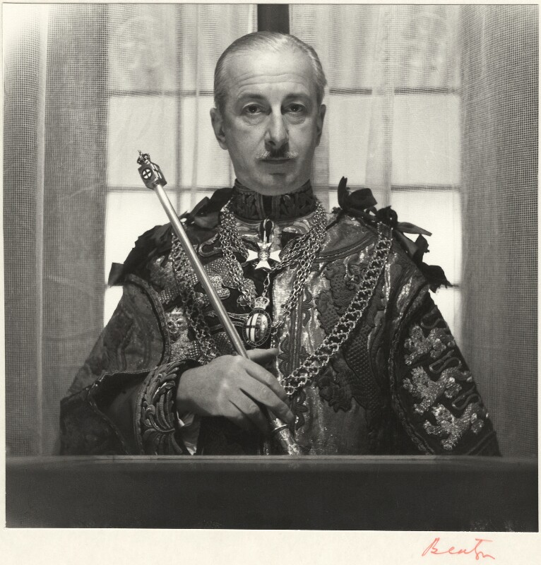 Sir George Rothe Bellew, by Cecil Beaton, 1953 - NPG x14023 - © Cecil Beaton Studio Archive, Sotheby's London