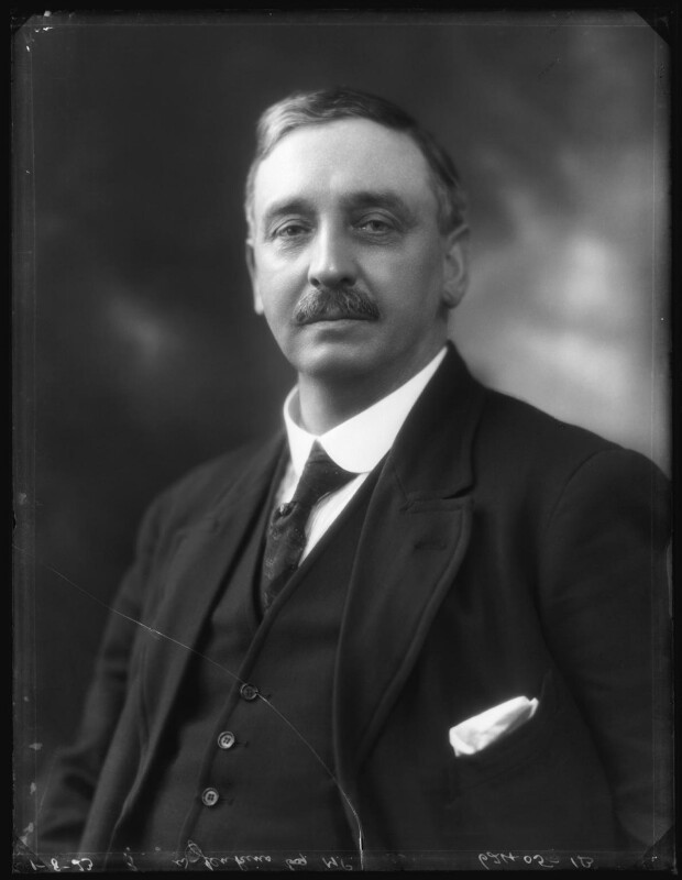 Sir William Jenkins, by Bassano Ltd, 1 August 1923 - NPG x122631 - © National Portrait Gallery, London