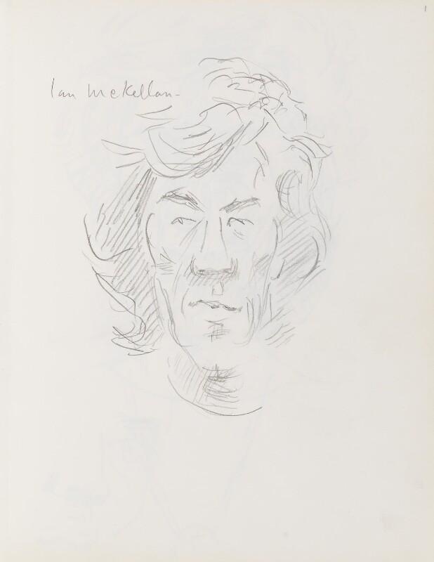 Ian McKellen, by Cecil Beaton, early 1970s? - NPG D17941(1) - © National Portrait Gallery, London