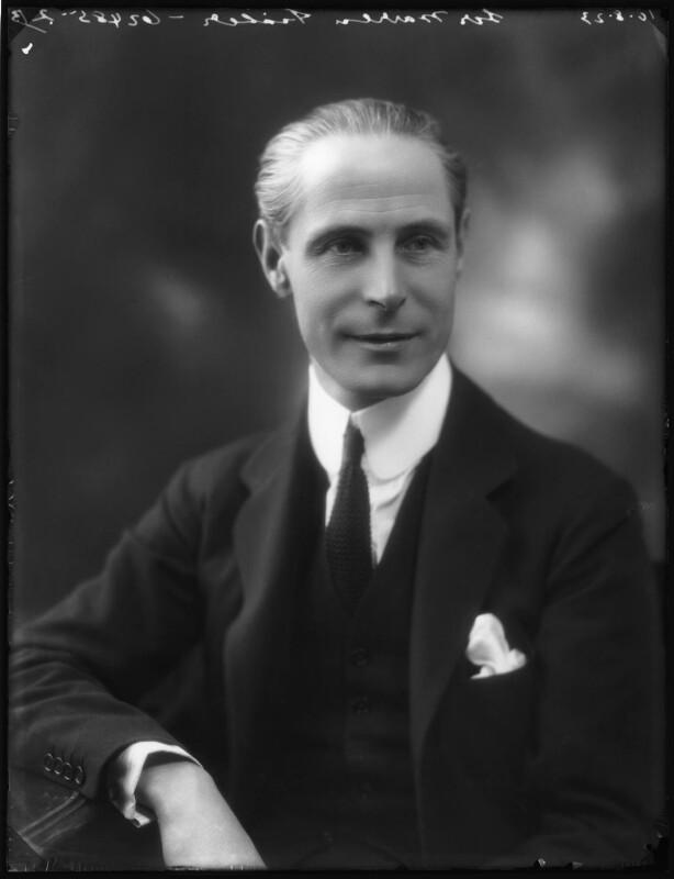 Sir (Norman Fenwick) Warren Fisher, by Bassano Ltd, 10 August 1923 - NPG x122653 - © National Portrait Gallery, London
