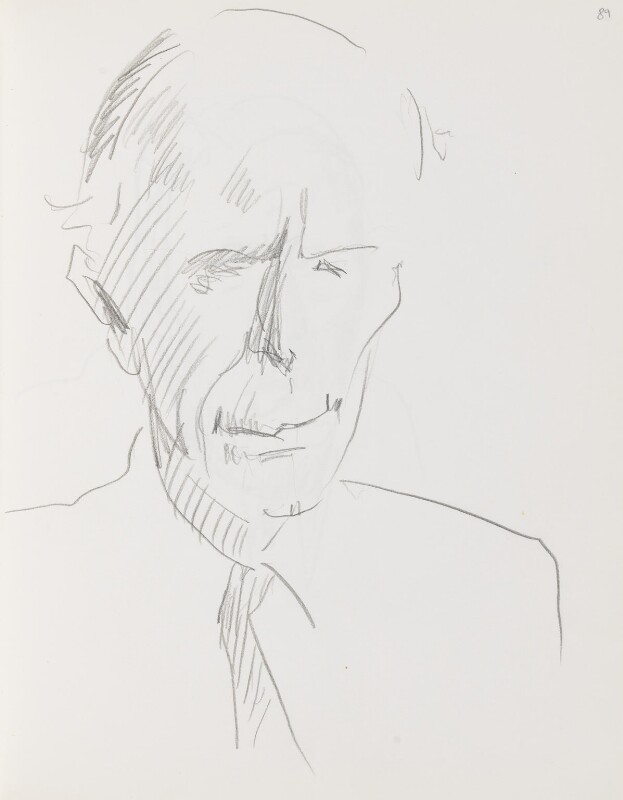 Alec Douglas-Home, by Cecil Beaton, early 1970s? - NPG D17941(89) - © National Portrait Gallery, London