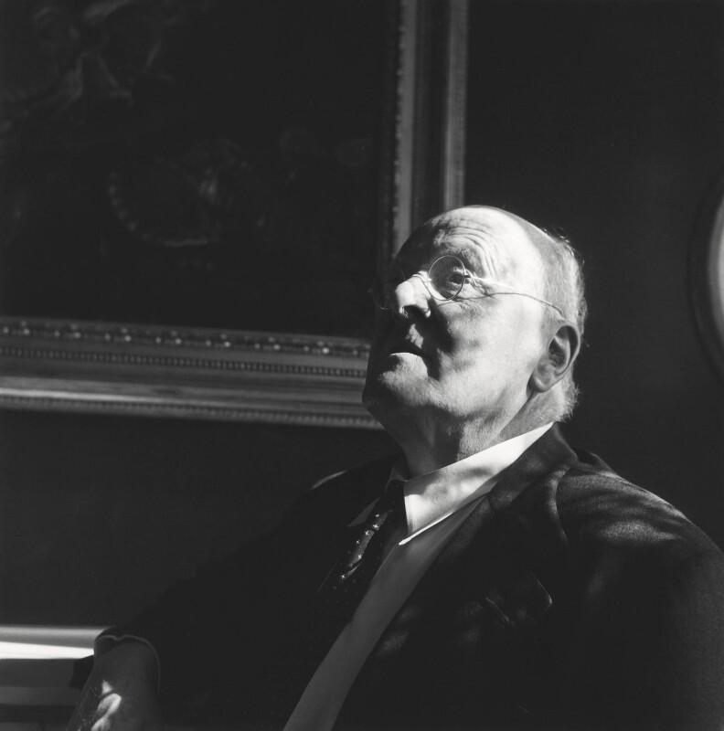 John Christie, by Cecil Beaton, 1956 - NPG x14045 - © Cecil Beaton Studio Archive, Sotheby's London