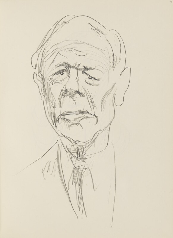Malcolm Muggeridge, by Cecil Beaton, late 1960s-early 1970s - NPG D17947(9) - © National Portrait Gallery, London