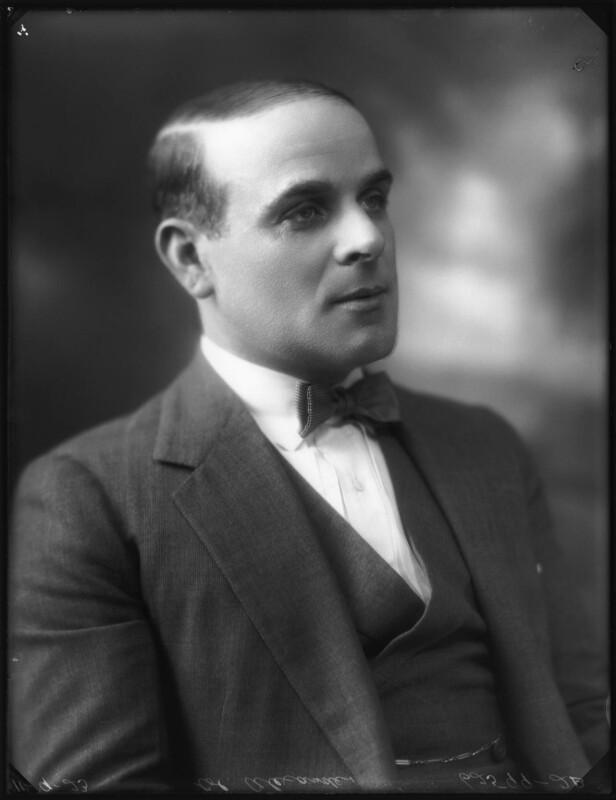 Maurice Alexander, by Bassano Ltd, 11 September 1923 - NPG x122671 - © National Portrait Gallery, London