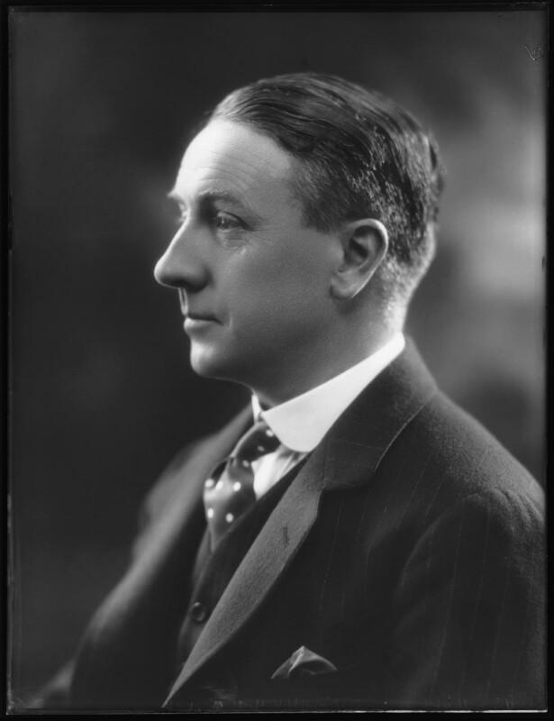 Hon. William Robertson Warren, by Bassano Ltd, 28 September 1923 - NPG x122686 - © National Portrait Gallery, London