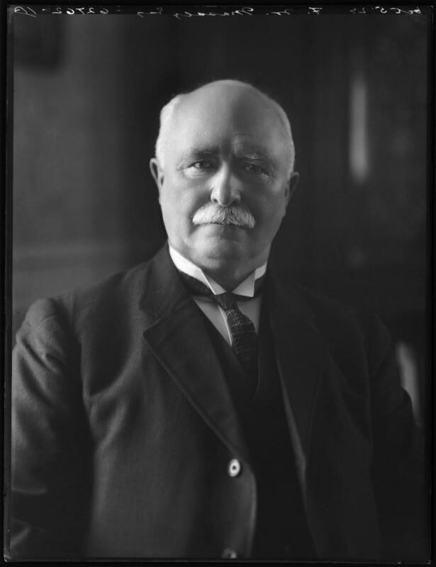 William Ferguson Massey, by Bassano Ltd, 5 October 1923 - NPG x122694 - © National Portrait Gallery, London