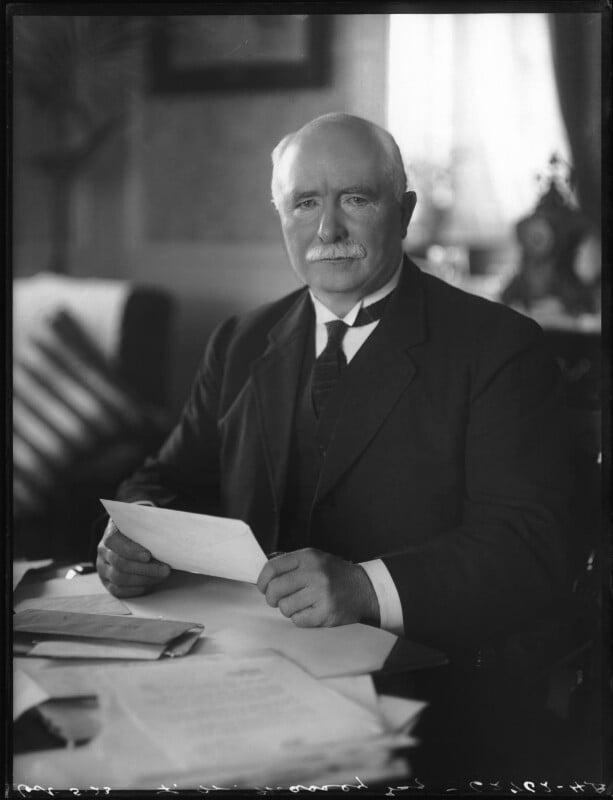 William Ferguson Massey, by Bassano Ltd, 5 October 1923 - NPG x122695 - © National Portrait Gallery, London