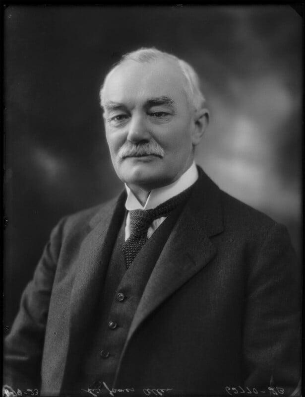 Sir James Allen, by Bassano Ltd, 6 October 1923 - NPG x122697 - © National Portrait Gallery, London