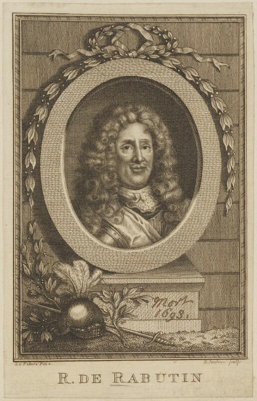 Roger de Bussy-Rabutin, by D. Jenkins, after  François Le Febure (Le Febvre), (circa 1635) - NPG D14230 - © National Portrait Gallery, London