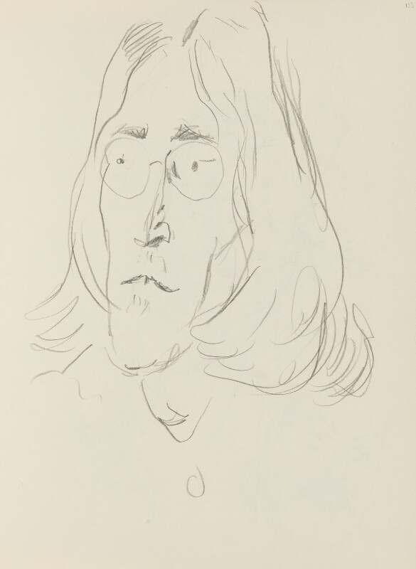 John Lennon, by Cecil Beaton, 1969 - NPG D17947(123) - © National Portrait Gallery, London